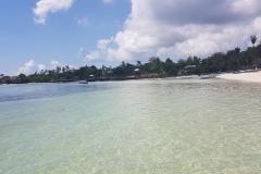 Pláž u Jelly's Haven resort