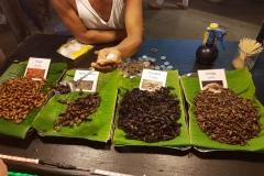Food makret na Koh Phan Nganu