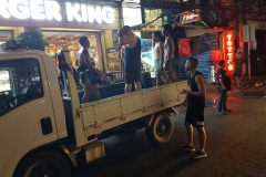 Koh Samui - Promo na thaiboxovou akci