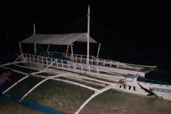 Náš večerní odvoz na ostrov Malapascua