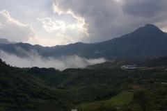 Sapa - výhled do údolí